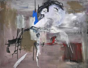 """Gemaltes Bild mit dem Titel """"n. o. T."""" von Heike Stommel"""