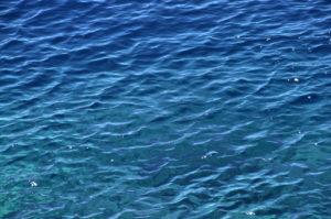 """Fotografie von Heike Stommel mit dem Titel """"Meeresblau"""""""