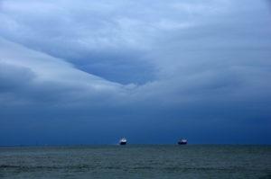 """Fotografie von Heike Stommel mit dem Titel """"Meerschiffe"""""""