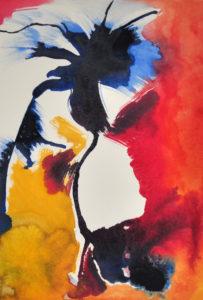 """Gemaltes Bild mit dem Titel """"Be free"""" von Heike Stommel"""