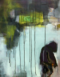 """Gemaltes Bild mit dem Titel """"broken"""" von Heike Stommel"""