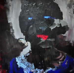 """Gemaltes Bild mit dem Titel """"Itsmetoo"""" von Heike Stommel"""