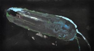 """Gemaltes Bild mit dem Titel """"Kaptain Kirk"""" von Heike Stommel"""