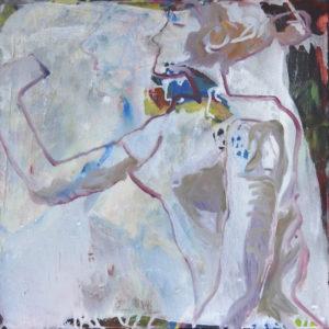 """Gemaltes Bild mit dem Titel """"Portrait A"""" von Heike Stommel"""